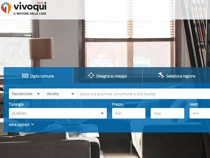 """VivoQui, il portale immobiliare che migliora la """"vita"""" online degli utenti"""